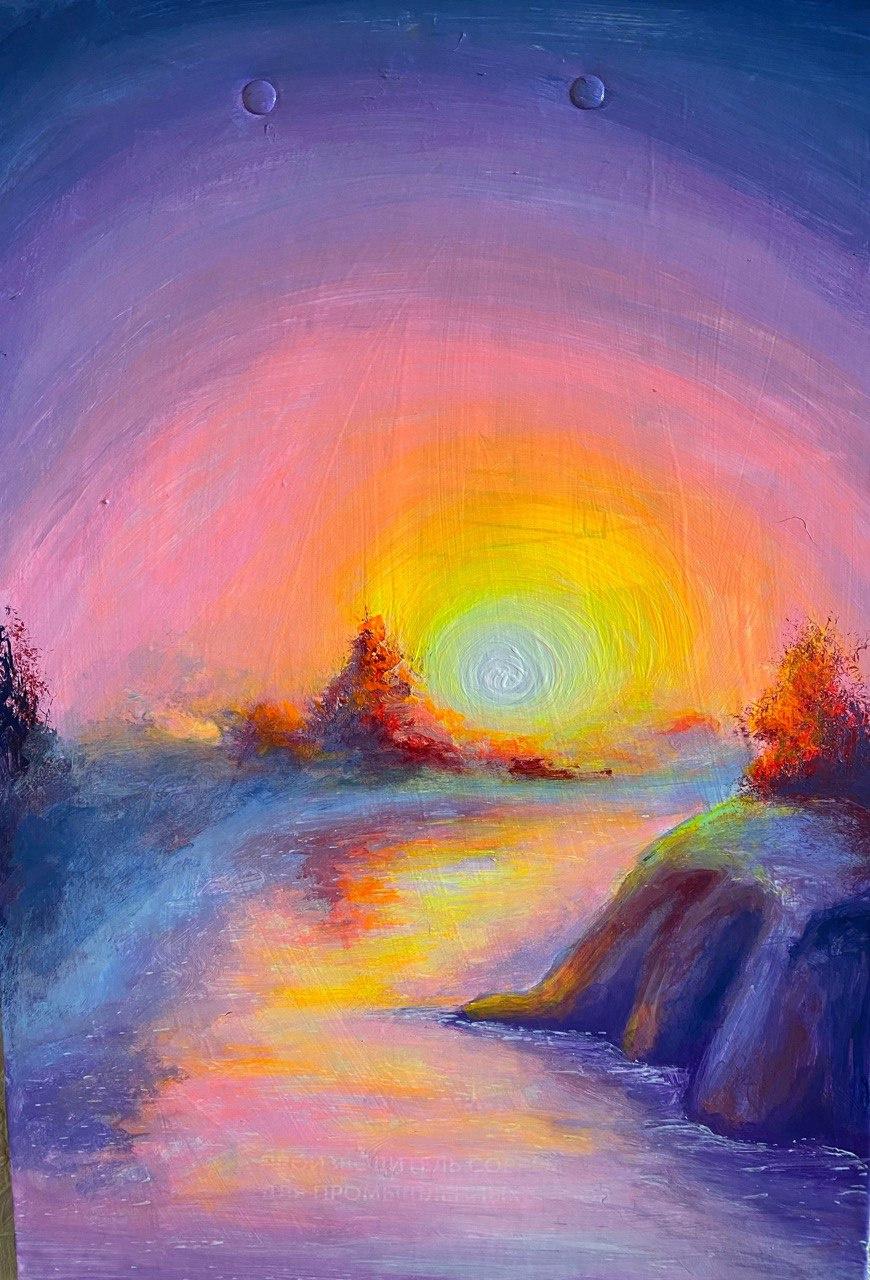 Irina. Sunrise