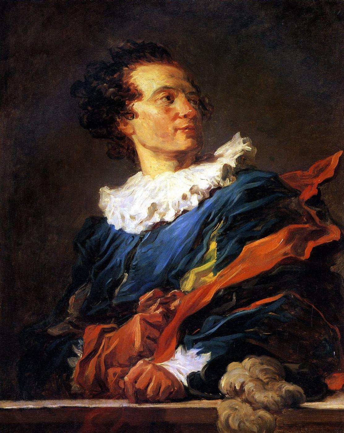 Jean-Honore Fragonard. Portrait of Jean-Claude Richard de Saint-Non