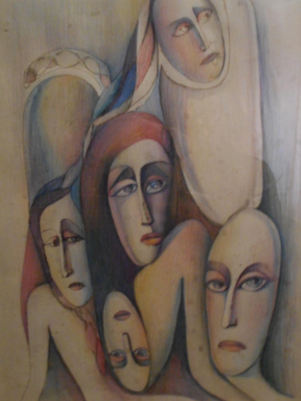 Nino Archilovna Givishvili. Melancholy.