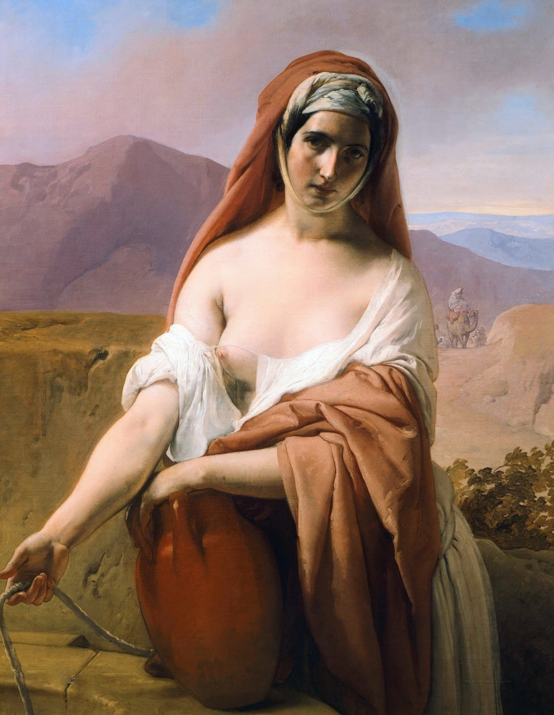 Francesco Ayets. Rebekah at the well