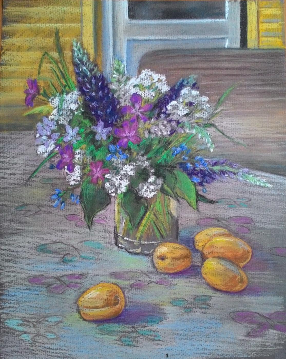 Irina Soboleva. Country still life