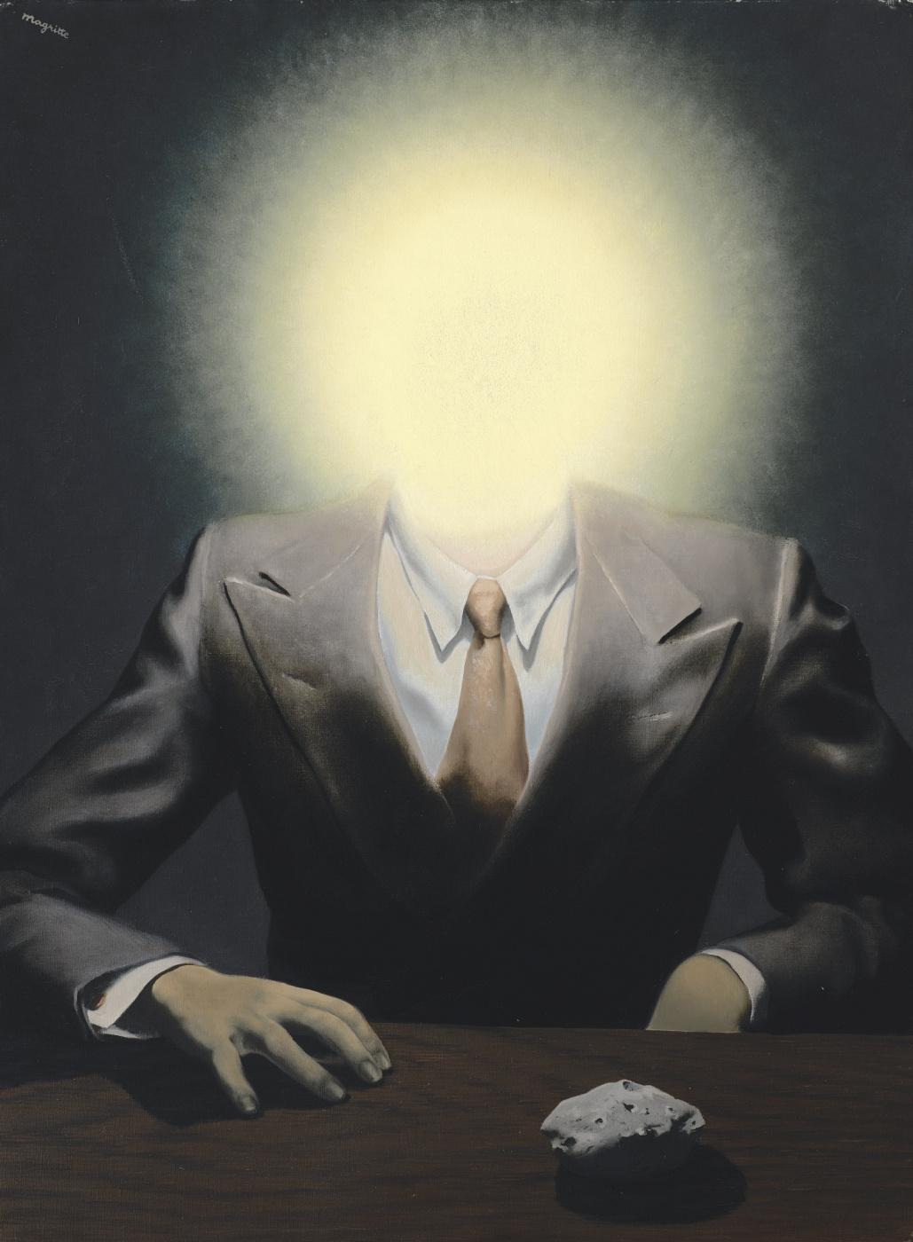 René Magritte. Le Principe du Plaisir