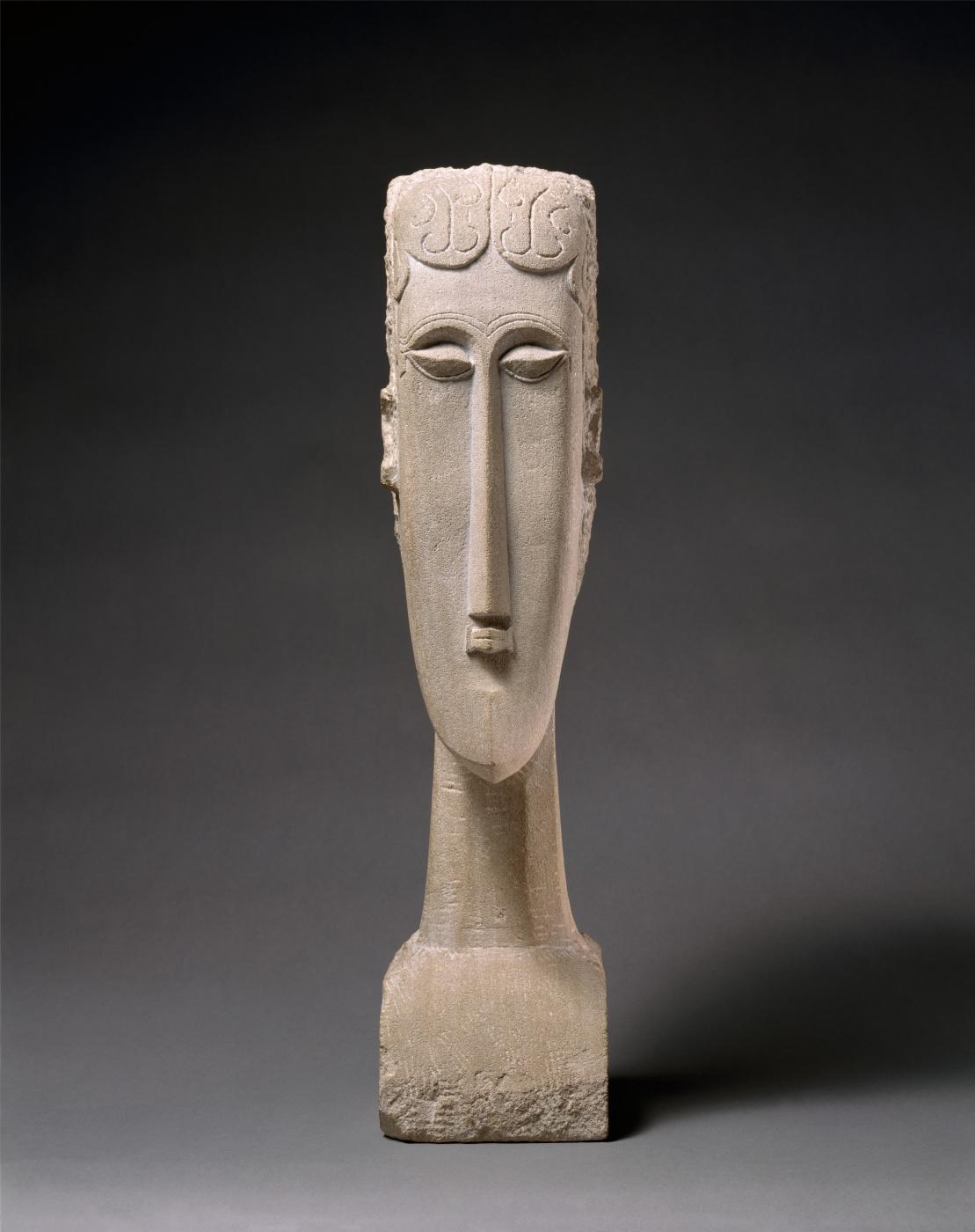 Amedeo Modigliani. Female head