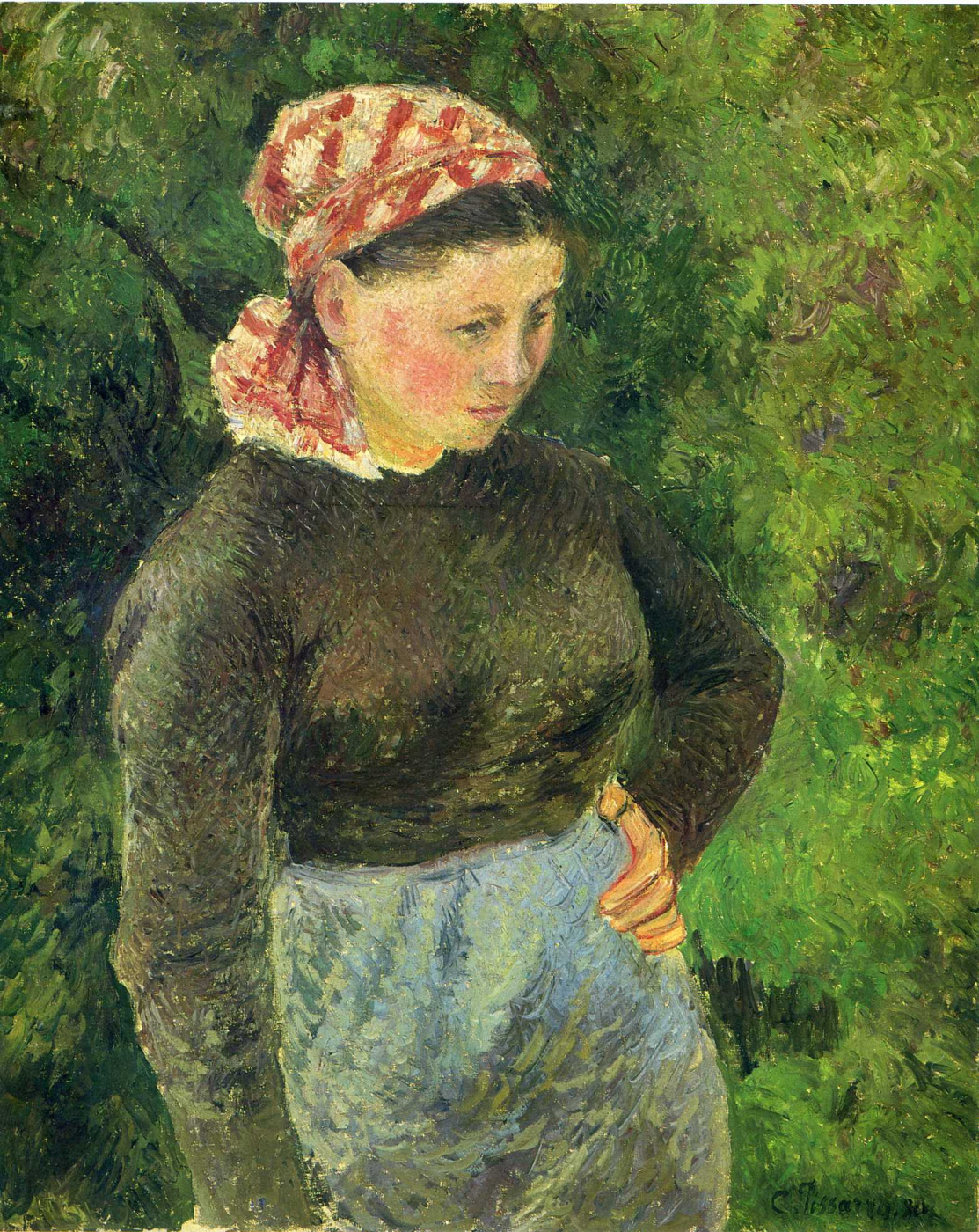 Camille Pissarro. The woman