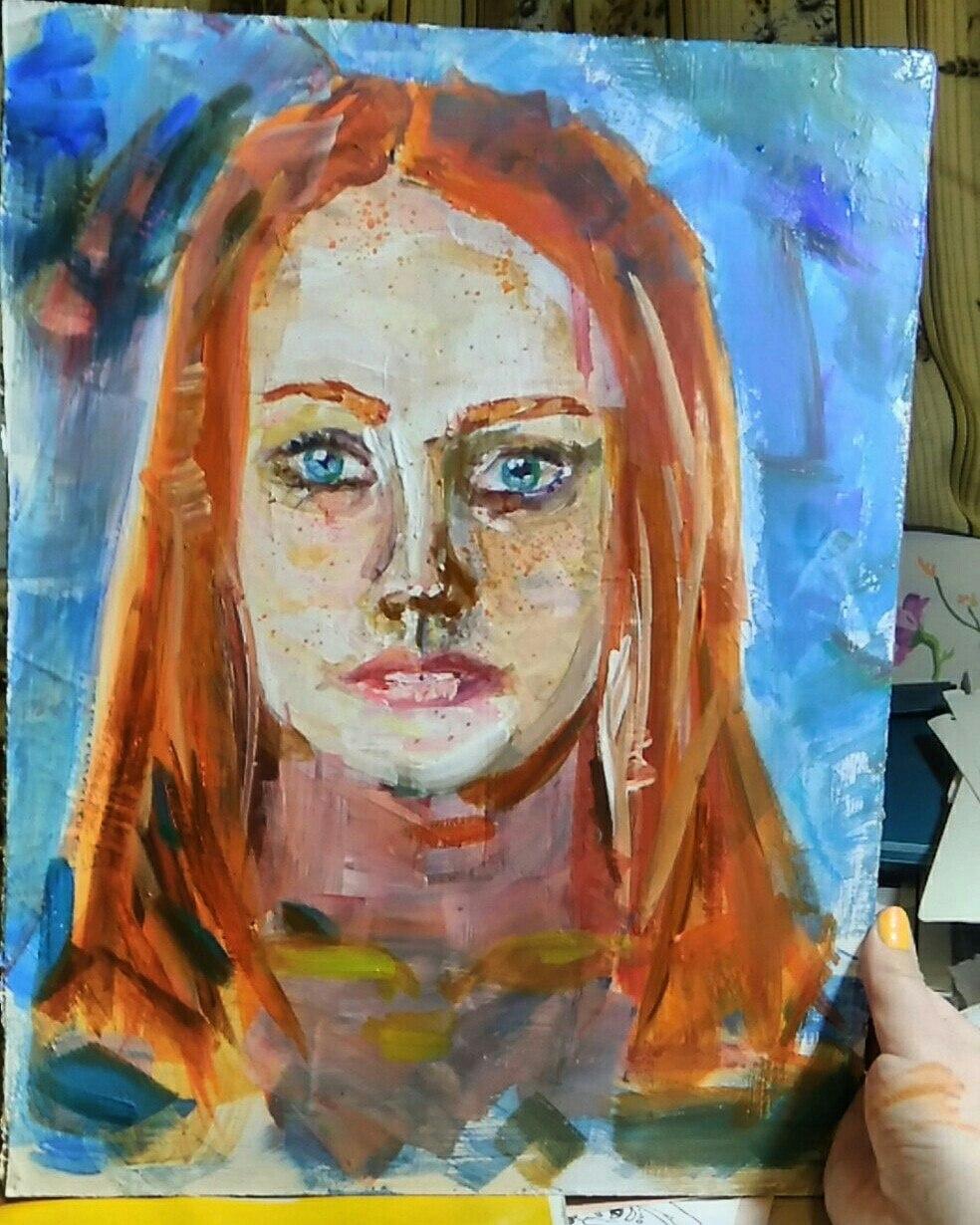 Irina Baleevsky. Summer red girls