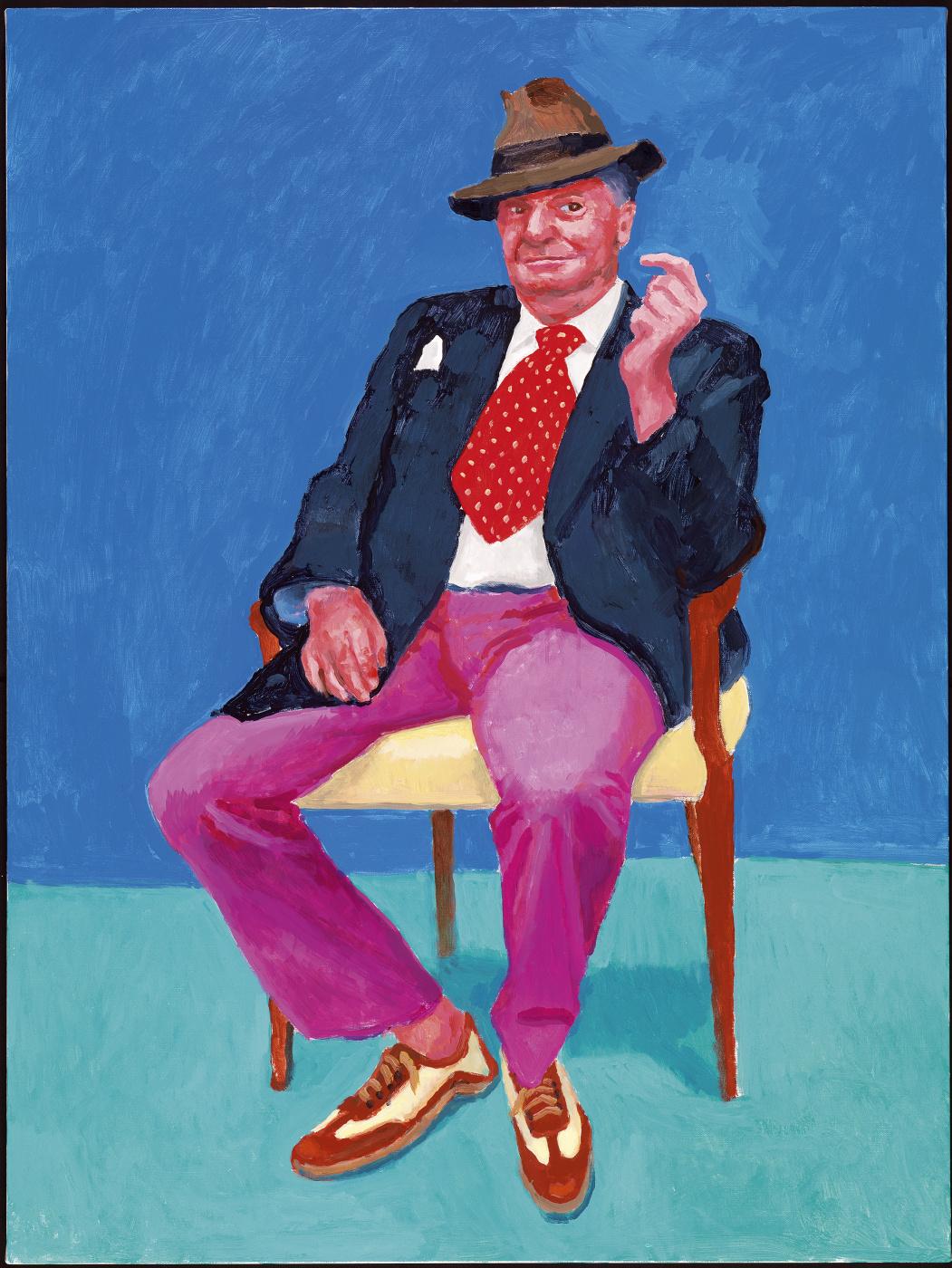 David Hockney. Barry Humphries