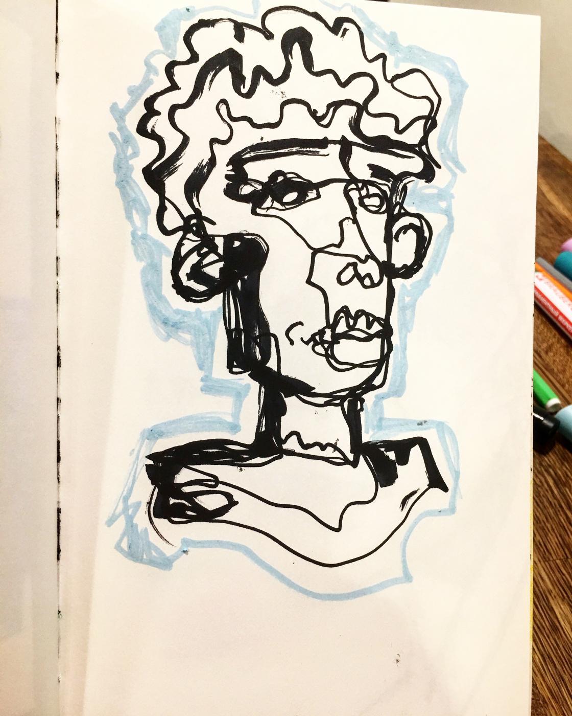 Alena Alekseevna Zasulskaya. Basquiat