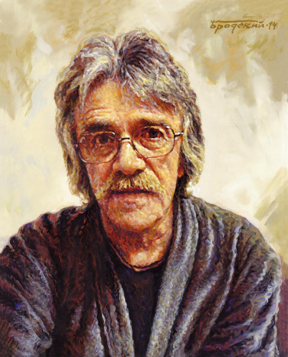David Shikovich Brodsky. Sculptor Nikolai Oleinik