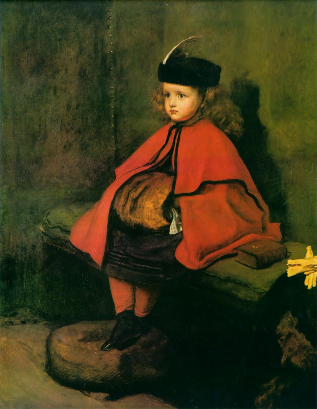 John Everett Millais. My first sermon