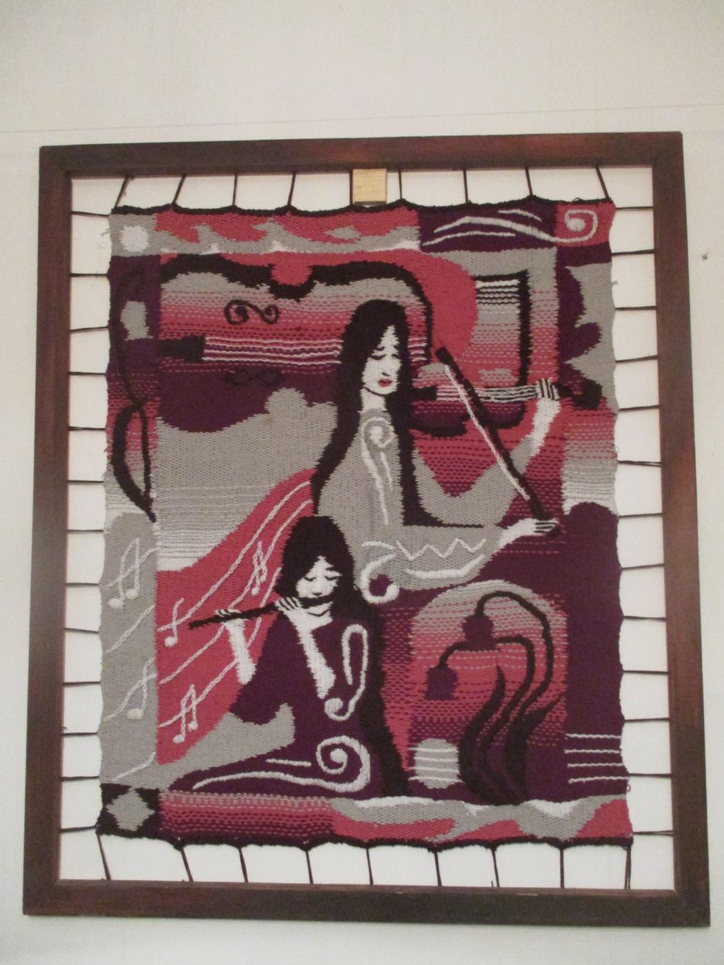 Olga Suncheleeva. Music. pink version (tapestry)