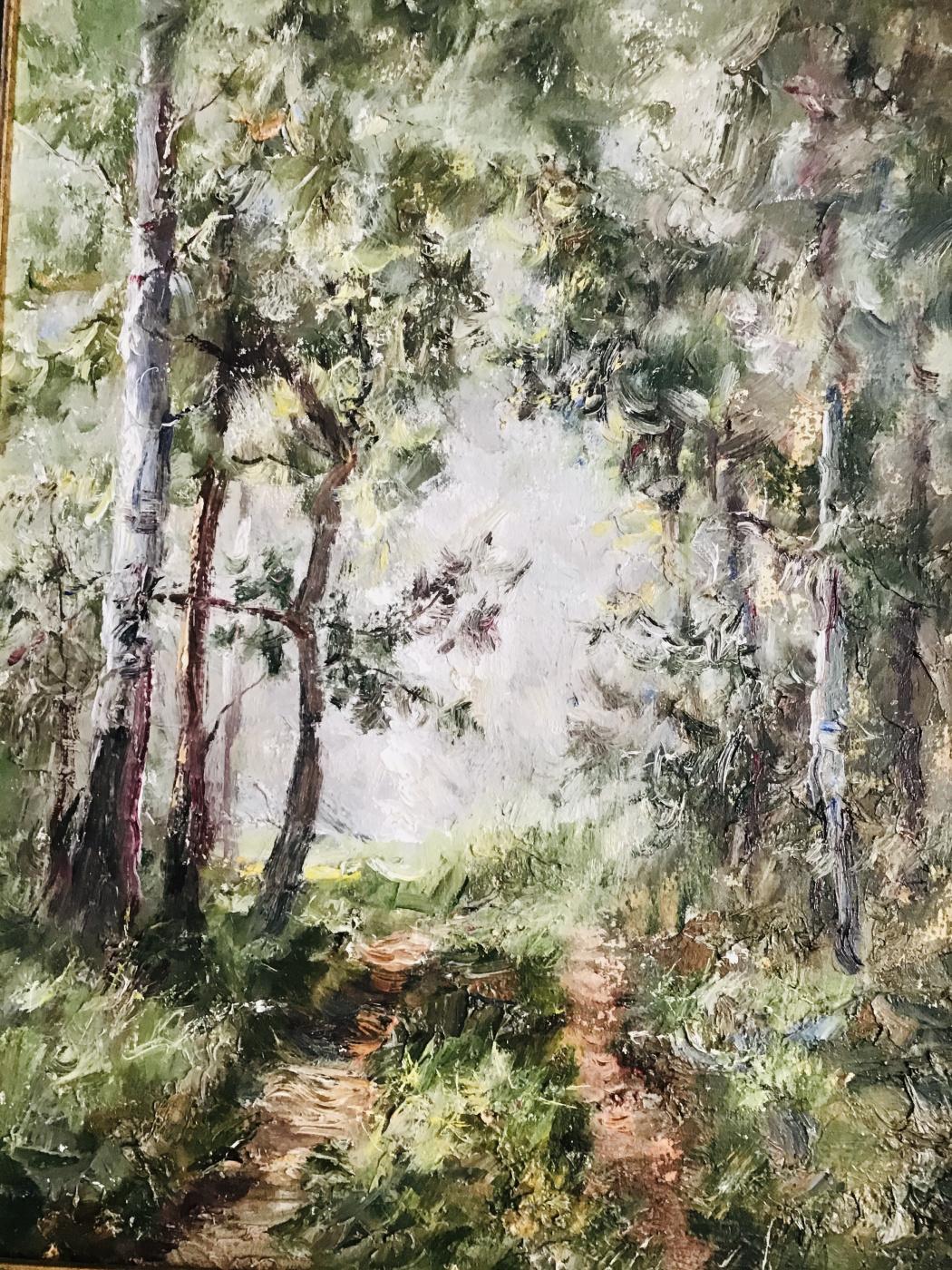 Samarkhanova. Study in Marfino