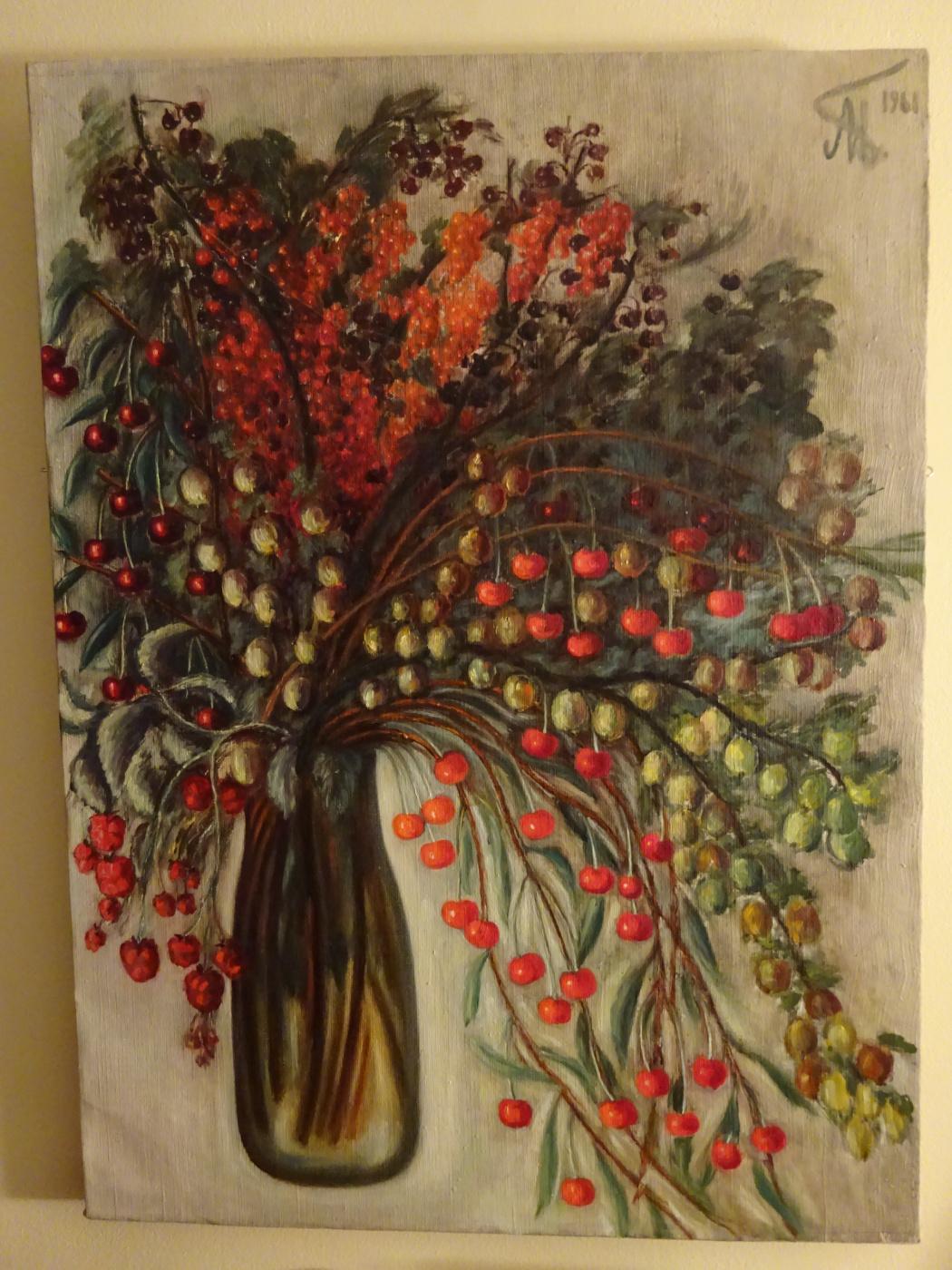 Ada Izrailevna Poberezhskaya. Bouquet of berries