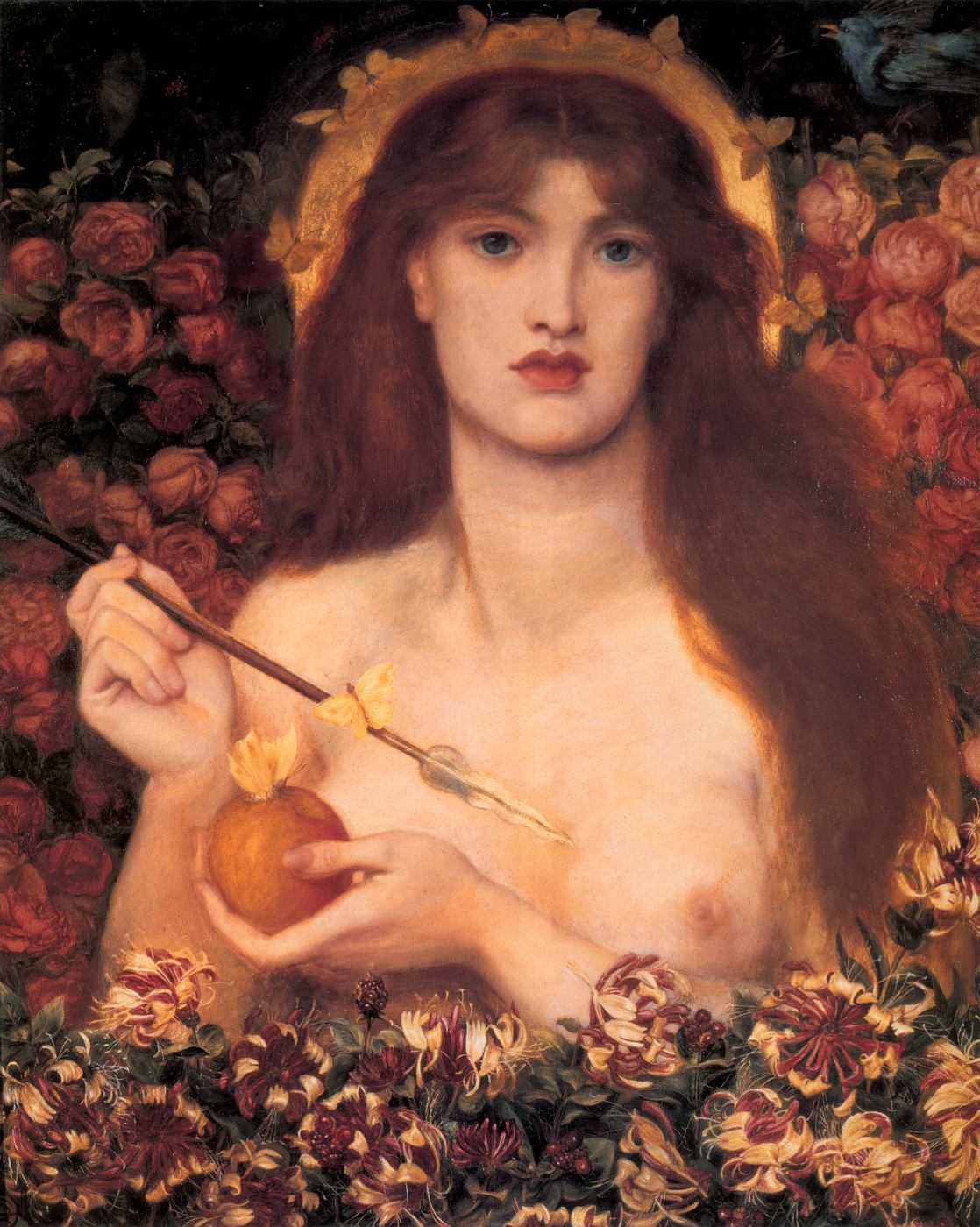 Dante Gabriel Rossetti. Venus Verticordia