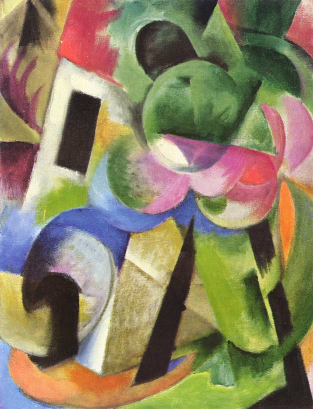 Franz Marc. Small composition II