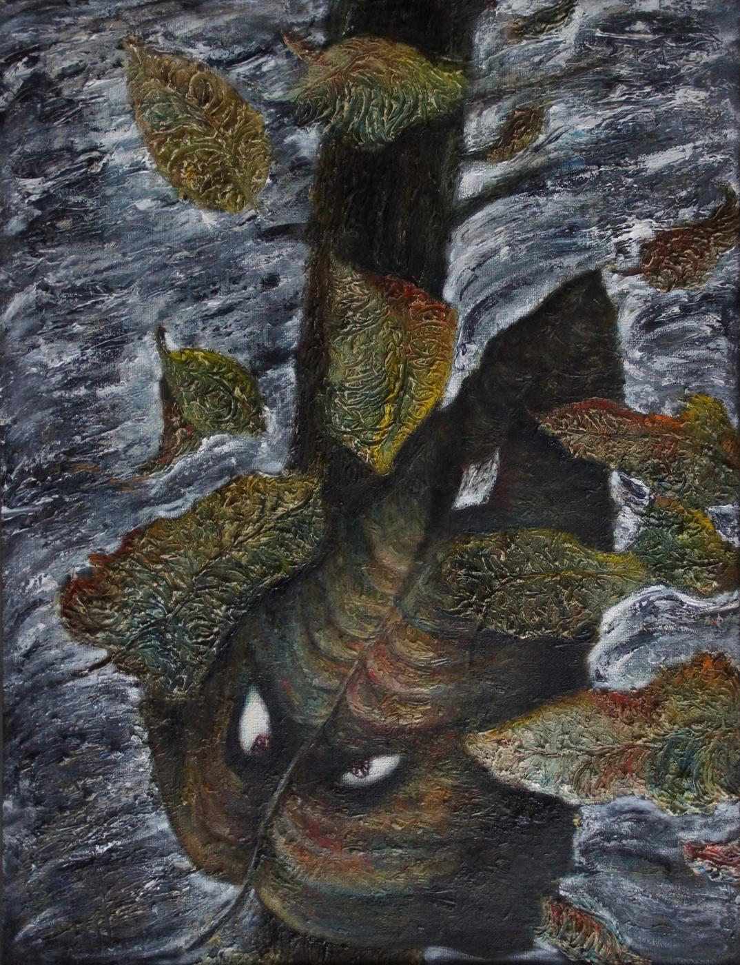 Sergey Viktorovich Solomatin. I am an autumn leaf. In memory of V. Siddur
