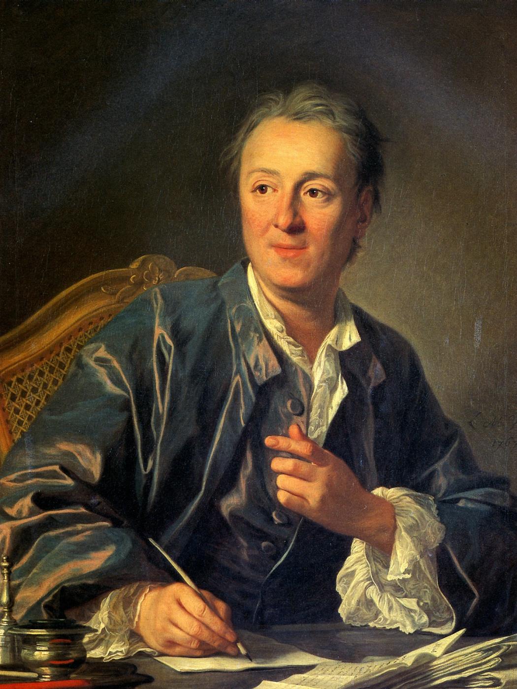 Louis-Michel van Loo. Denis Diderot