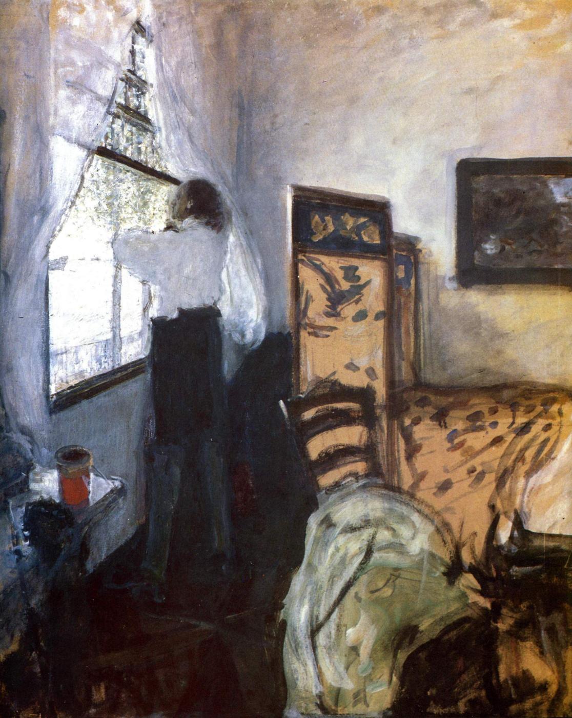 Valentin Aleksandrovich Serov. Petr I in Mon Plaisir