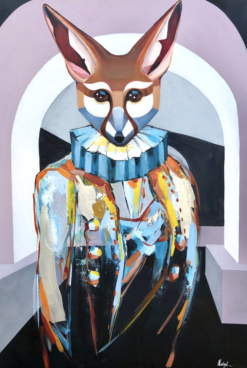 Natalia Shlyakhova. Fox in the museum