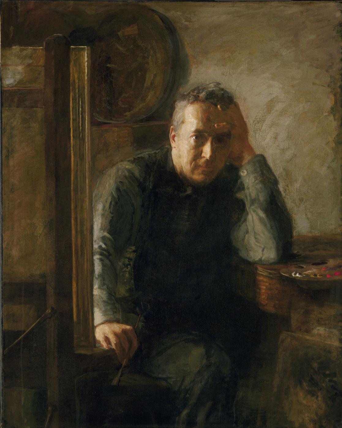 Susan McDowell Eakins. Portrait Of Thomas Eakins