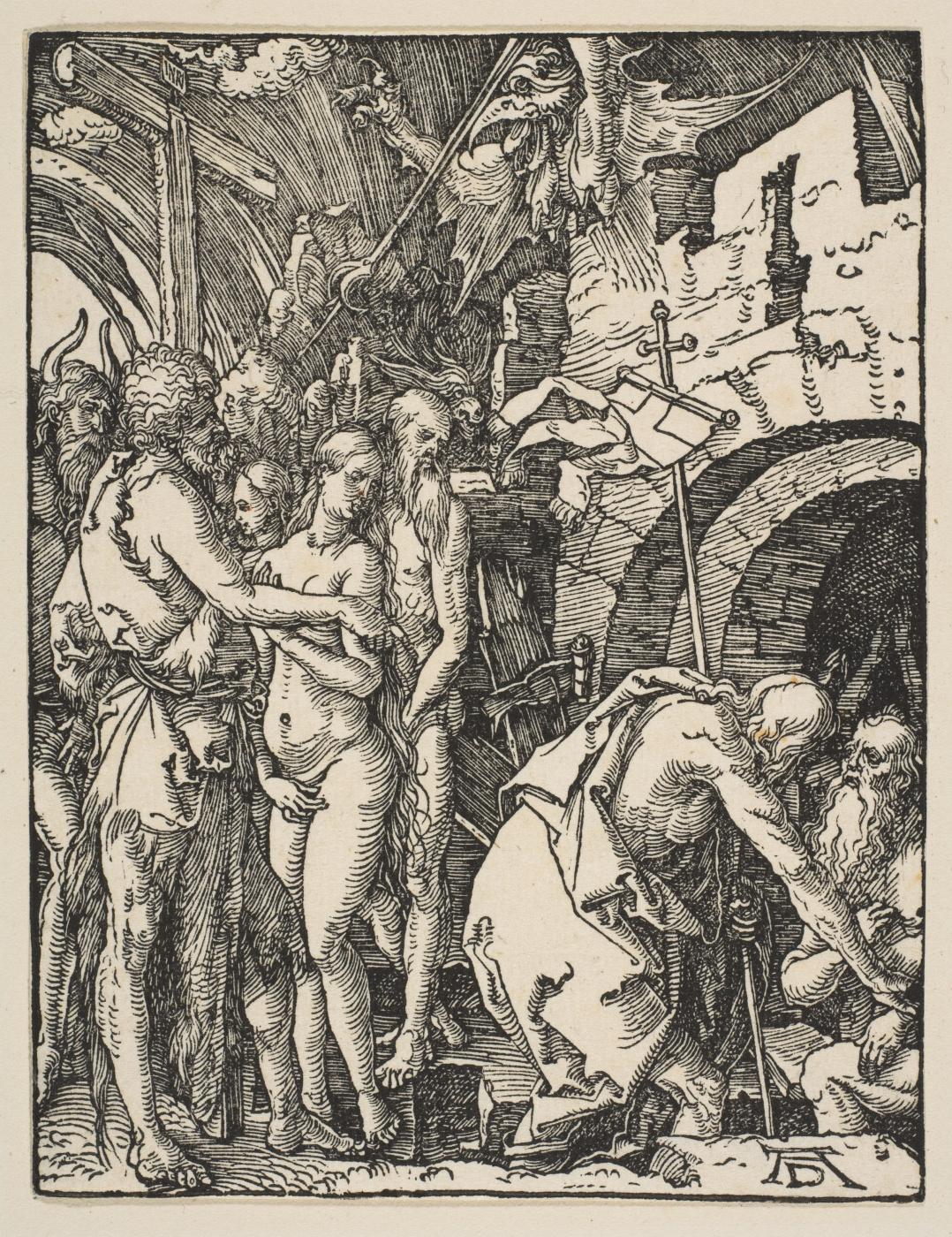 Albrecht Dürer. The descent into hell