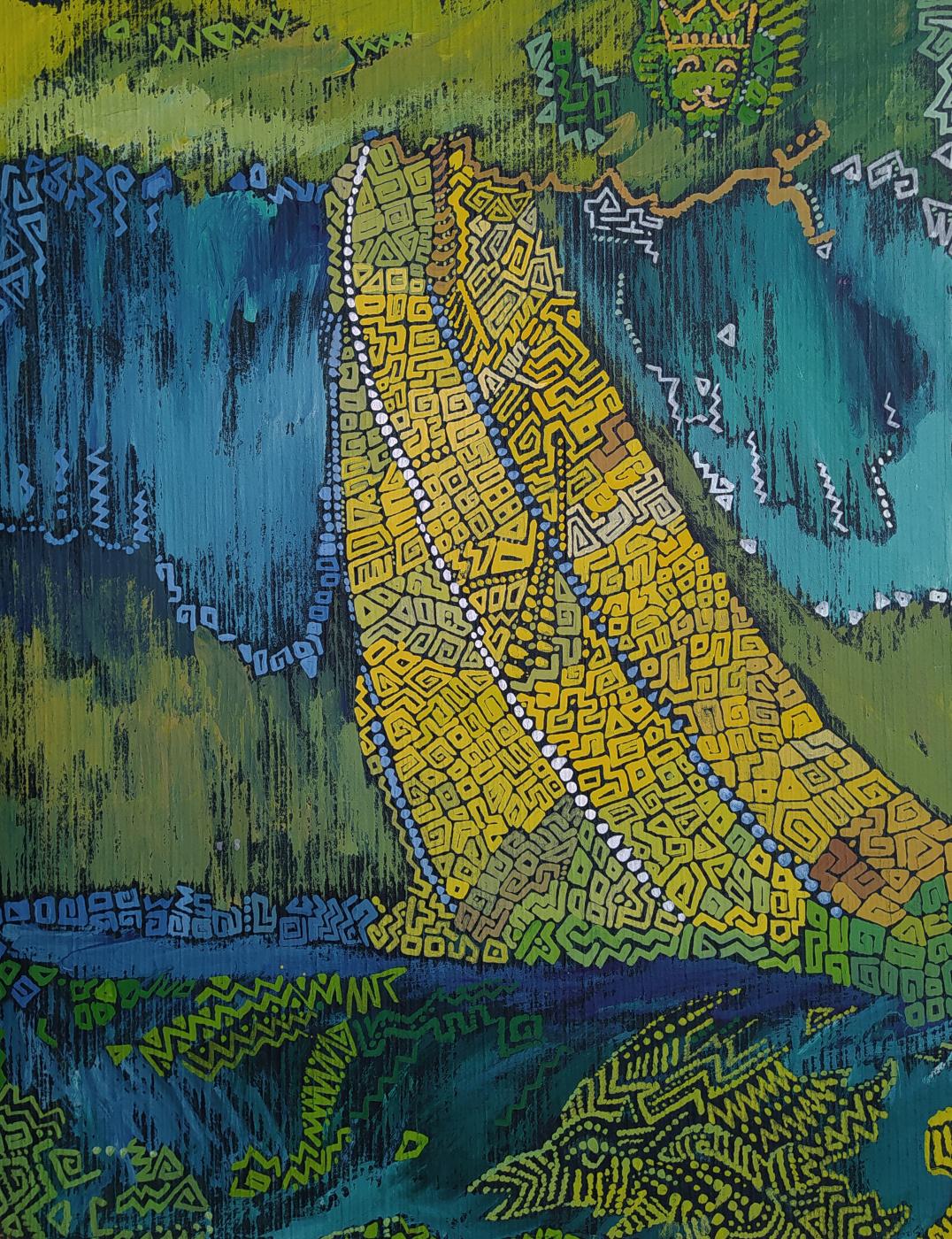 Artem Zavadsky. Rain-tree