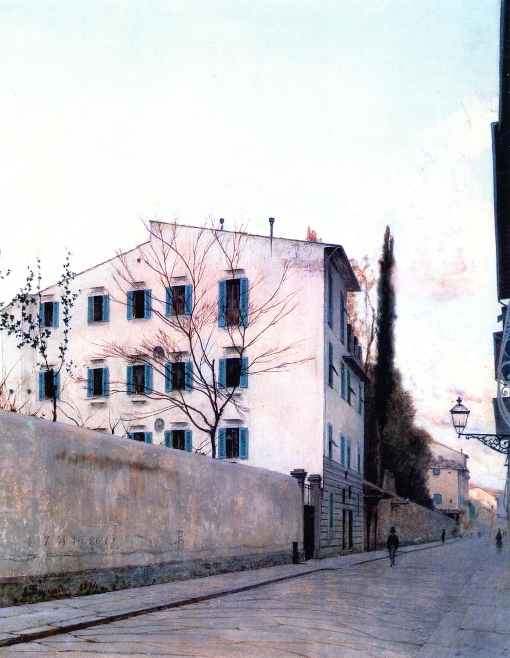 Telemaco Signorini. Landscape