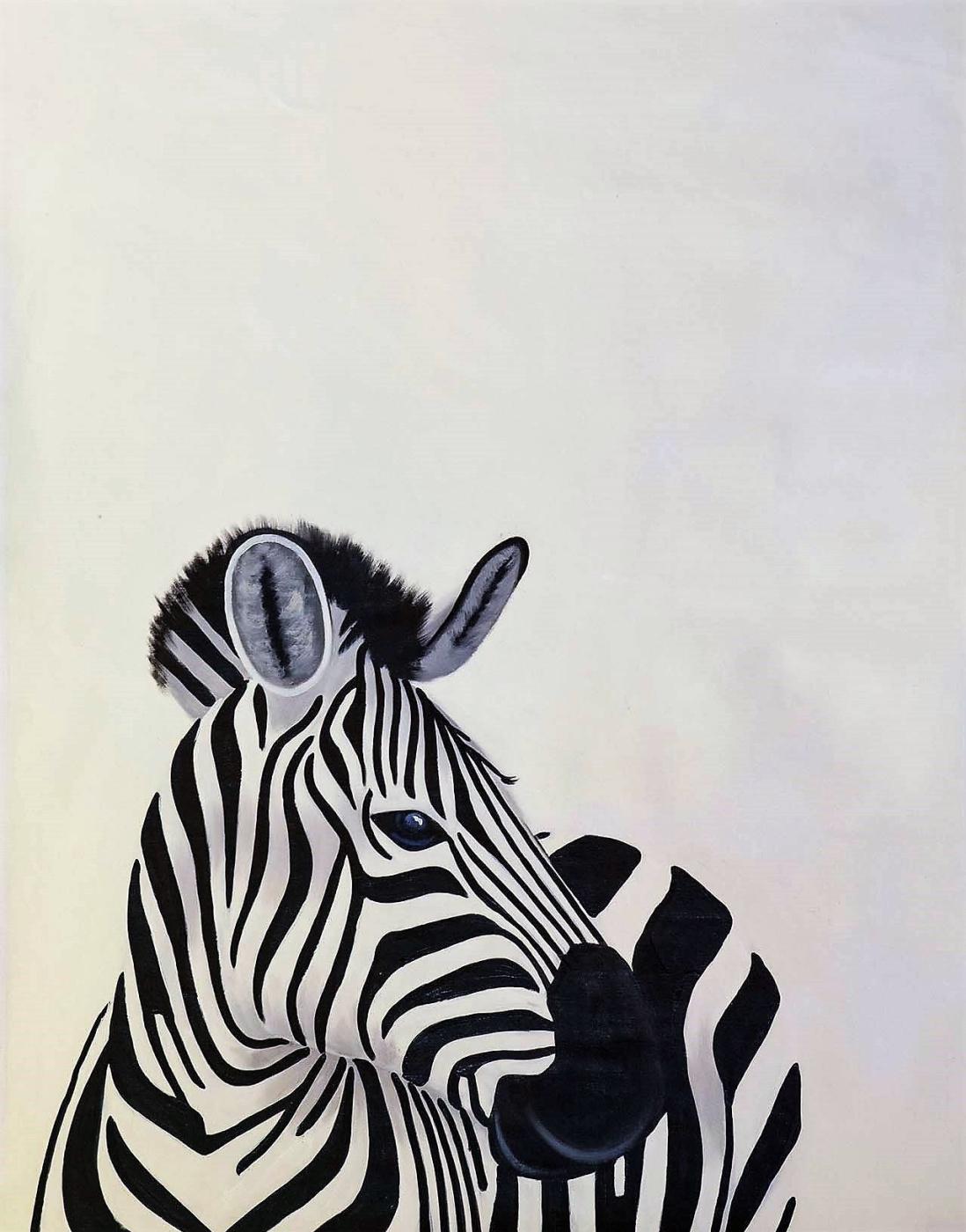 (no name). Zebras. Original color N3