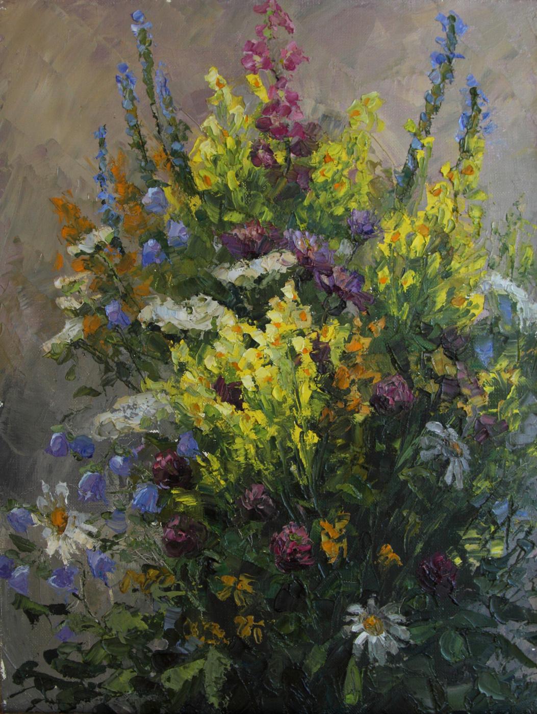 Svetlana Holodnyak. Summer bouquet