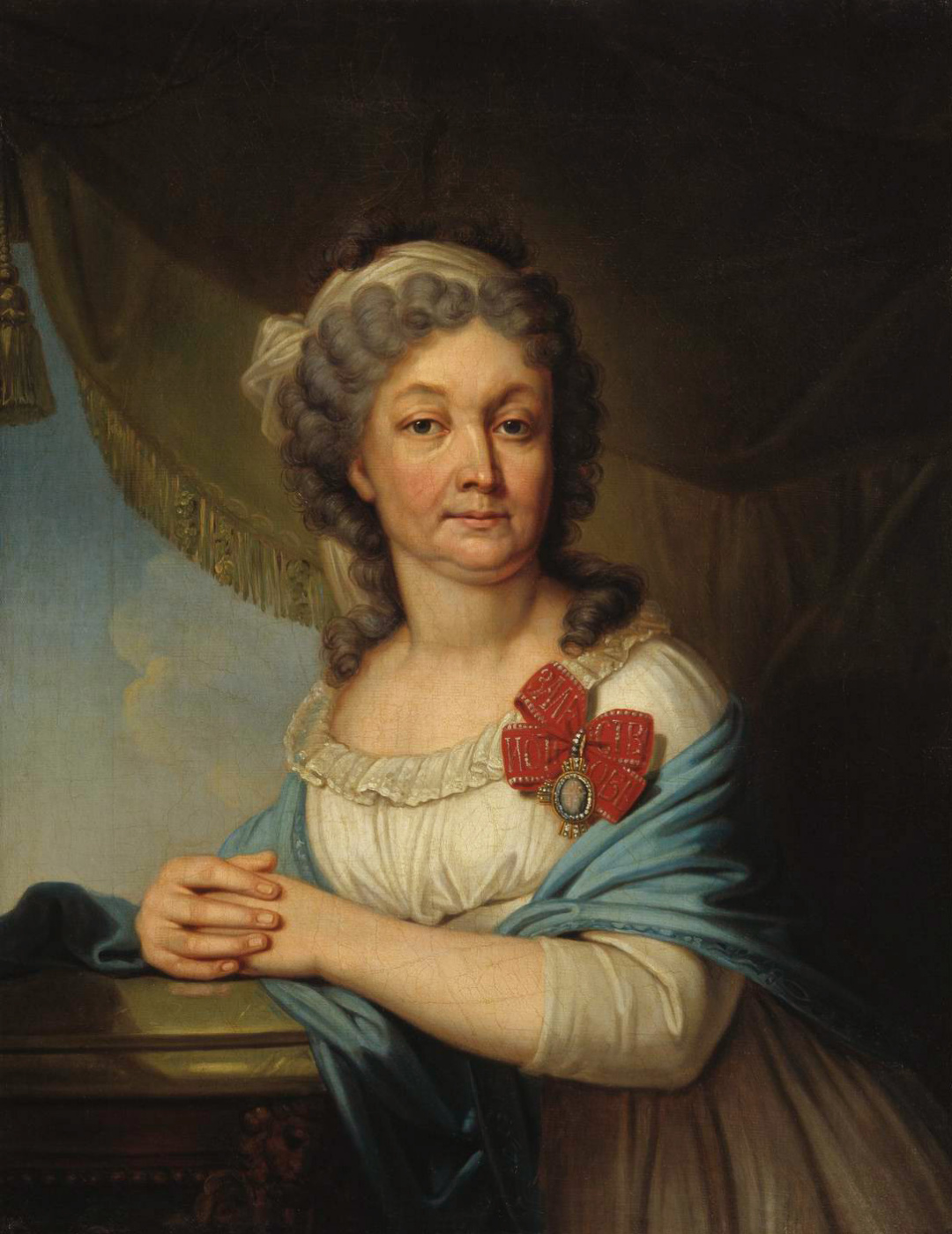 Vladimir Lukich Borovikovsky. Portrait of Countess V. S. Vasilyeva. 1800