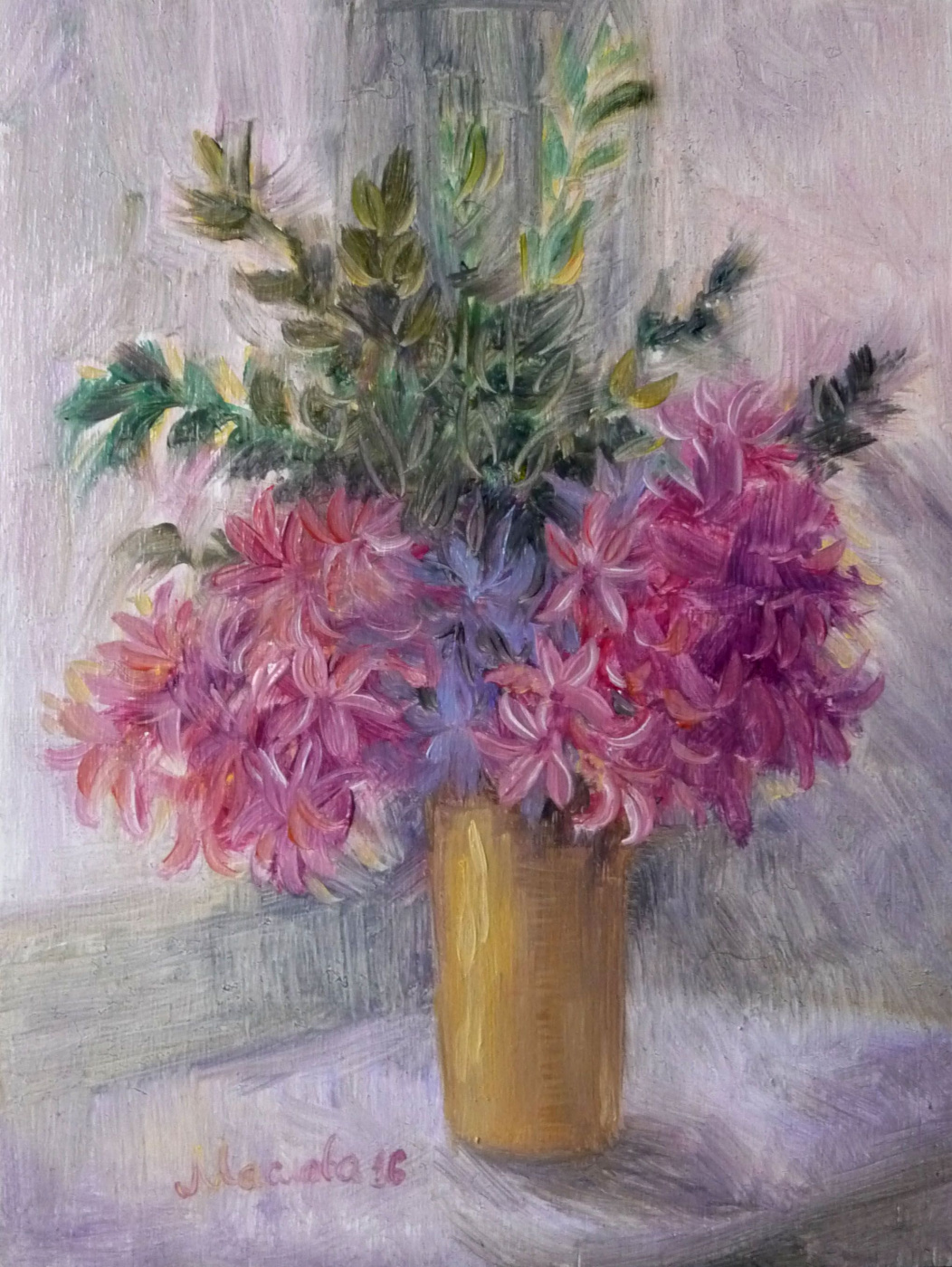 """Marianna Maslova. Series """"Biography of bouquets,"""" """"The first bouquet from you"""""""