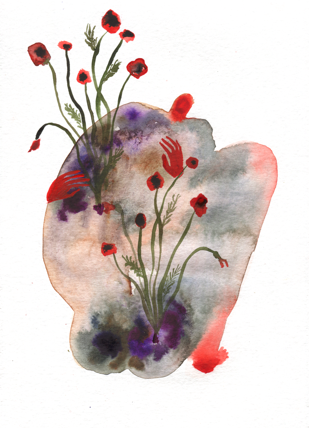 Anastasia Sergeevna Rydlevskaya. Flowers of pain. What are you, nobody beat anyone