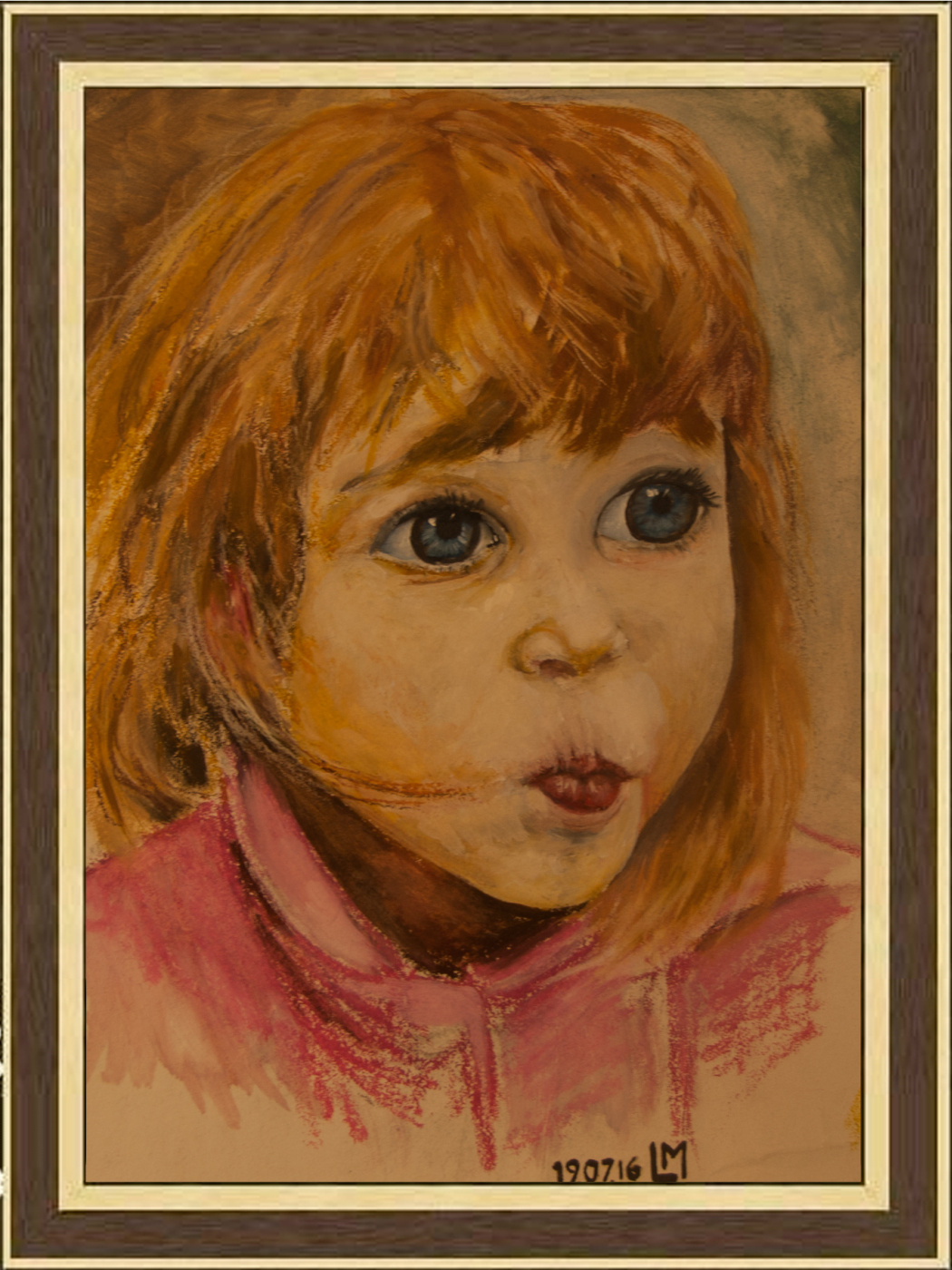 Girl with blue eyes by Lev Mayski: History, Analysis & Facts