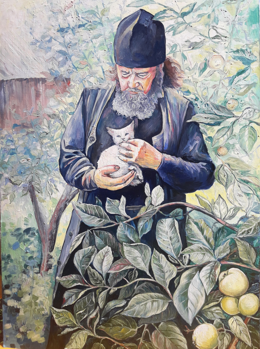 Sharigina Vera. Monk of the Pokrovo-Ennatsky Monastery