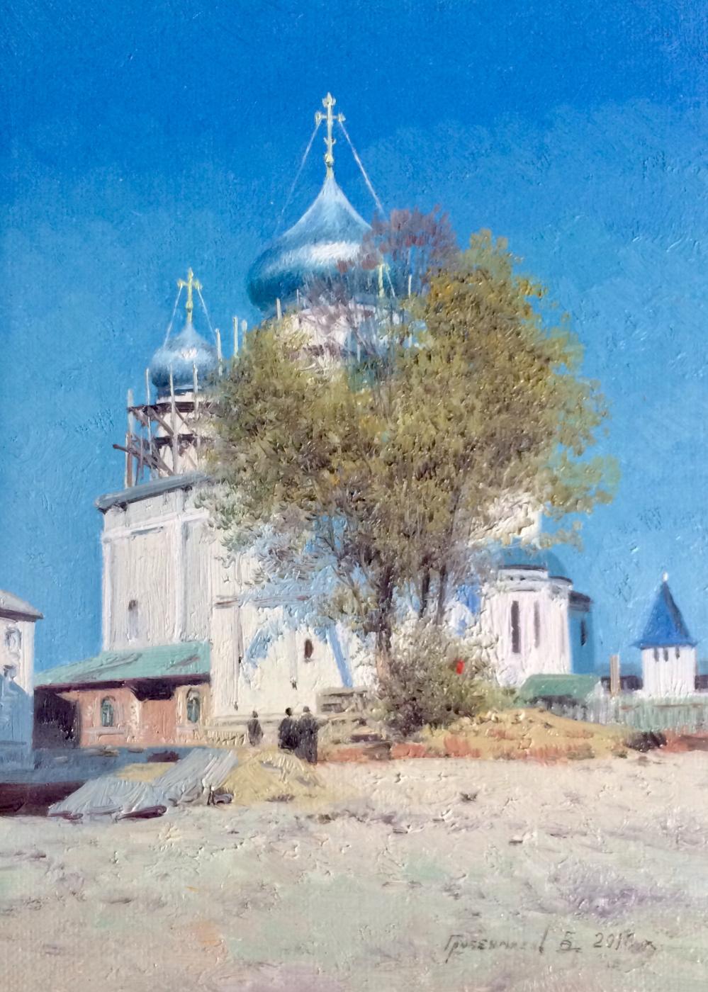 Vasily Ivanovich Gribennikov. Cathedral of the Nikitsky Monastery, Pereslavl-Zalessky