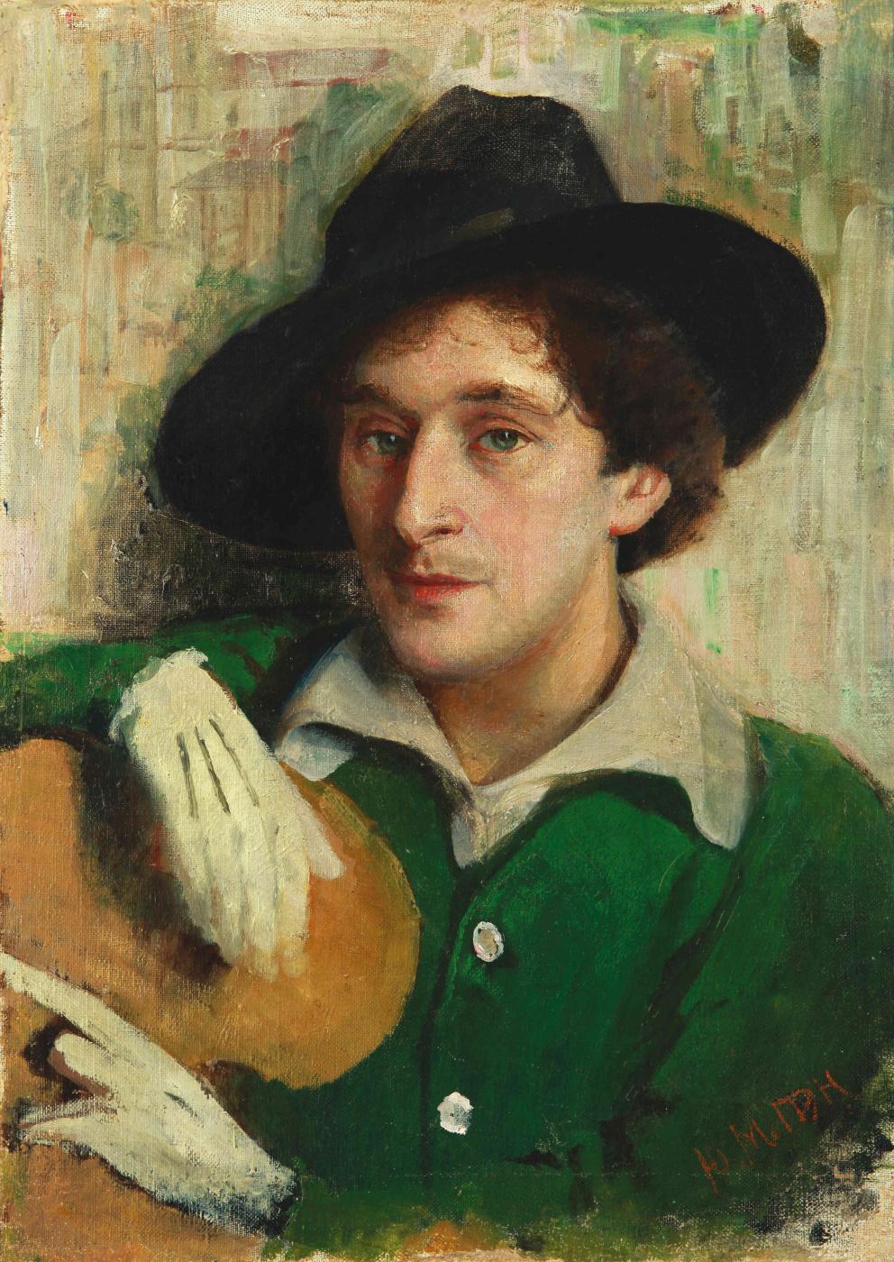 Yudel Pen. Portrait Of Marc Chagall