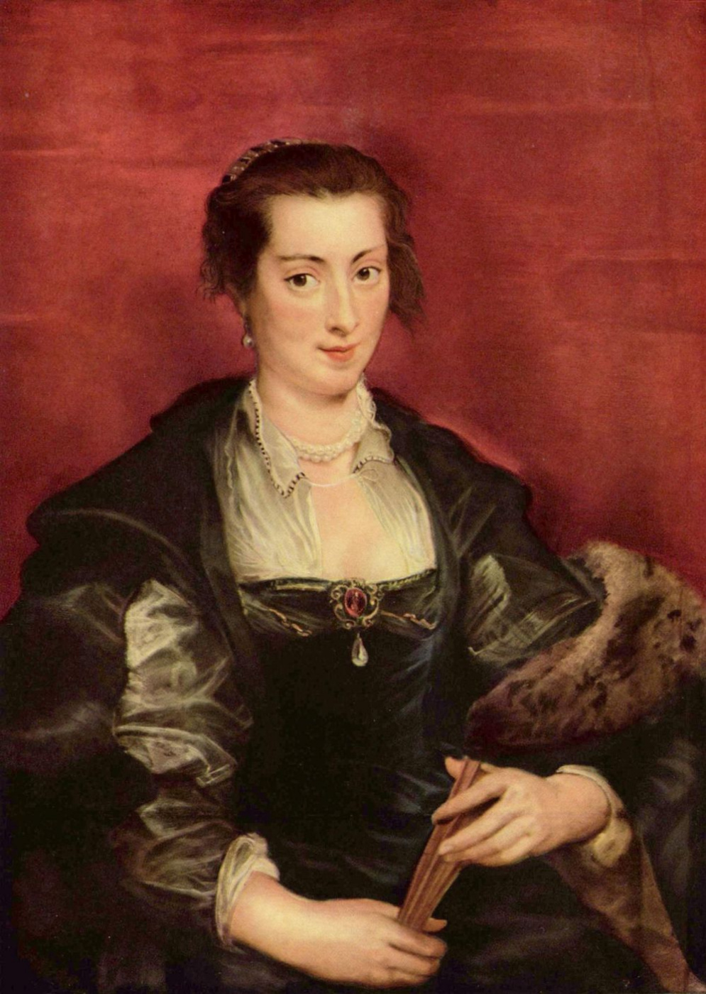 Peter Paul Rubens. Portrait Of Isabella Brant