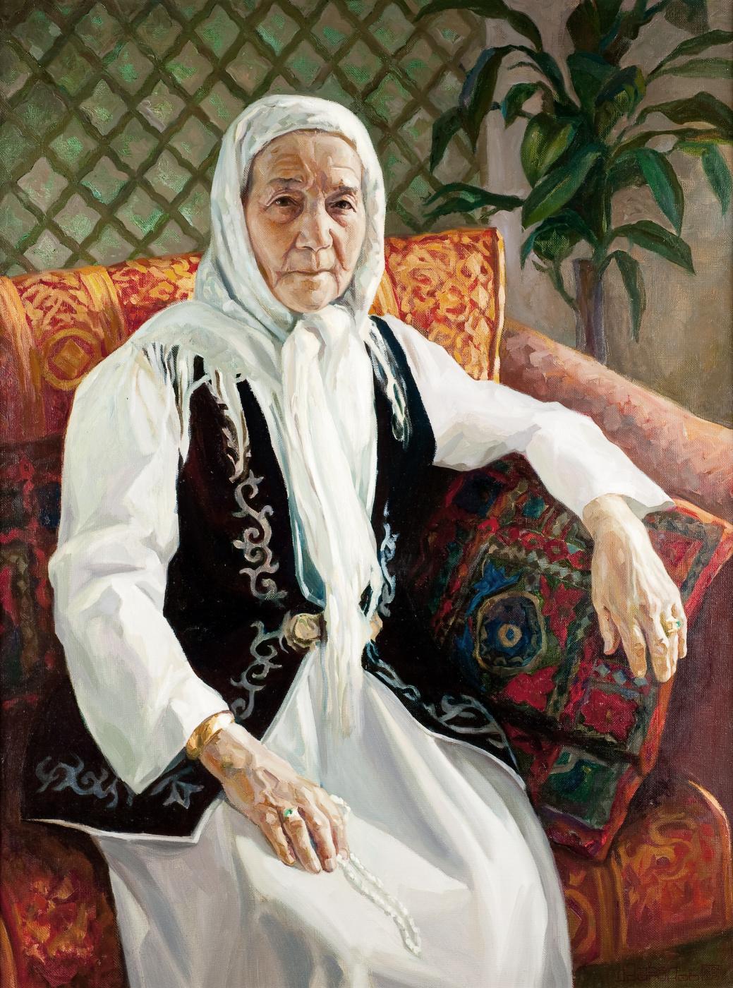 Pavel Gennadievich Dragunov. Portrait of an elderly woman