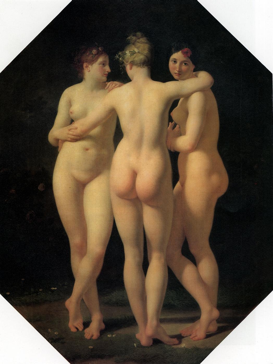 Jean Baptiste Reno. The Three Graces