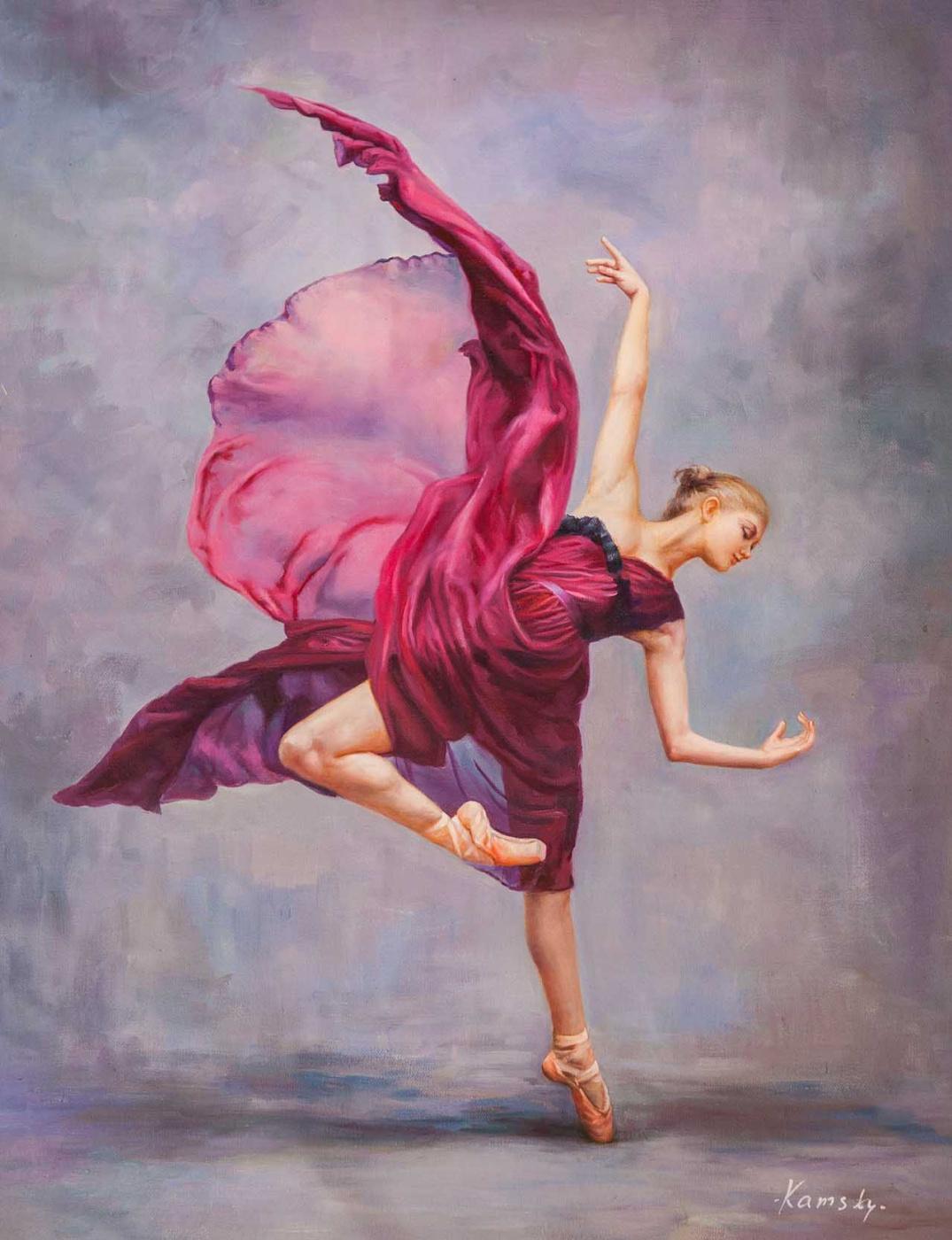 Savely Kamsky. Танец «Арабеск»