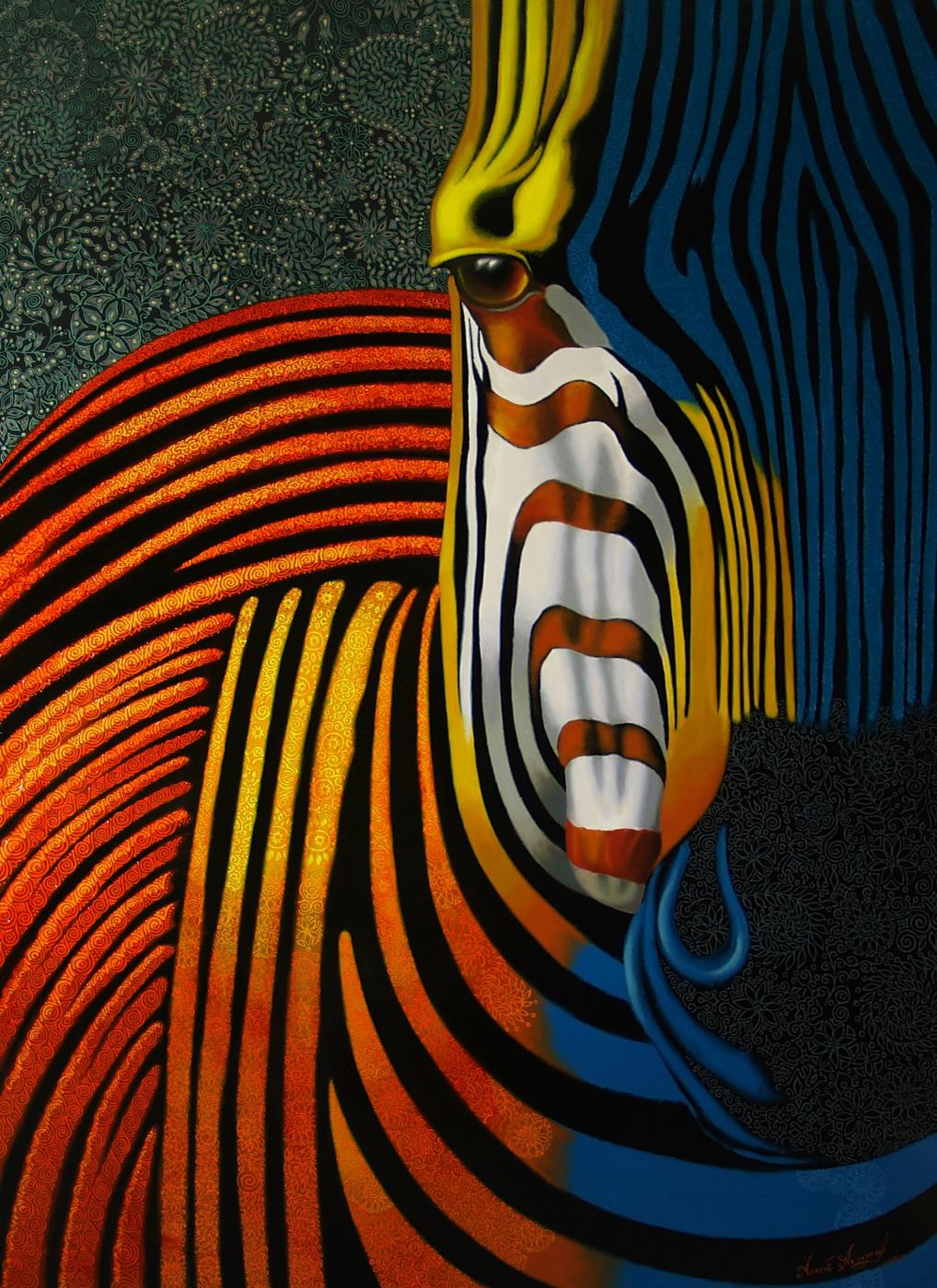 Алексей Петрович Акиндинов. Zebra # 2