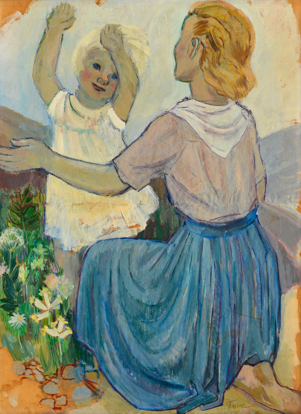 Tove Jansson. Mother and child
