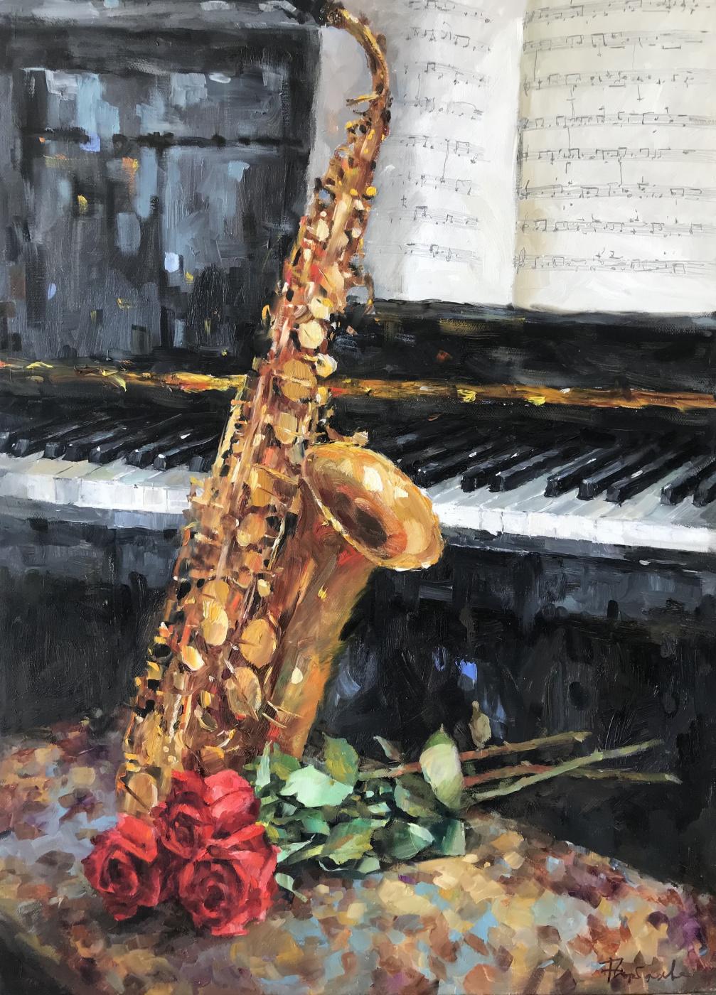 Natalia Veniaminovna Gorbacheva. Saxophone