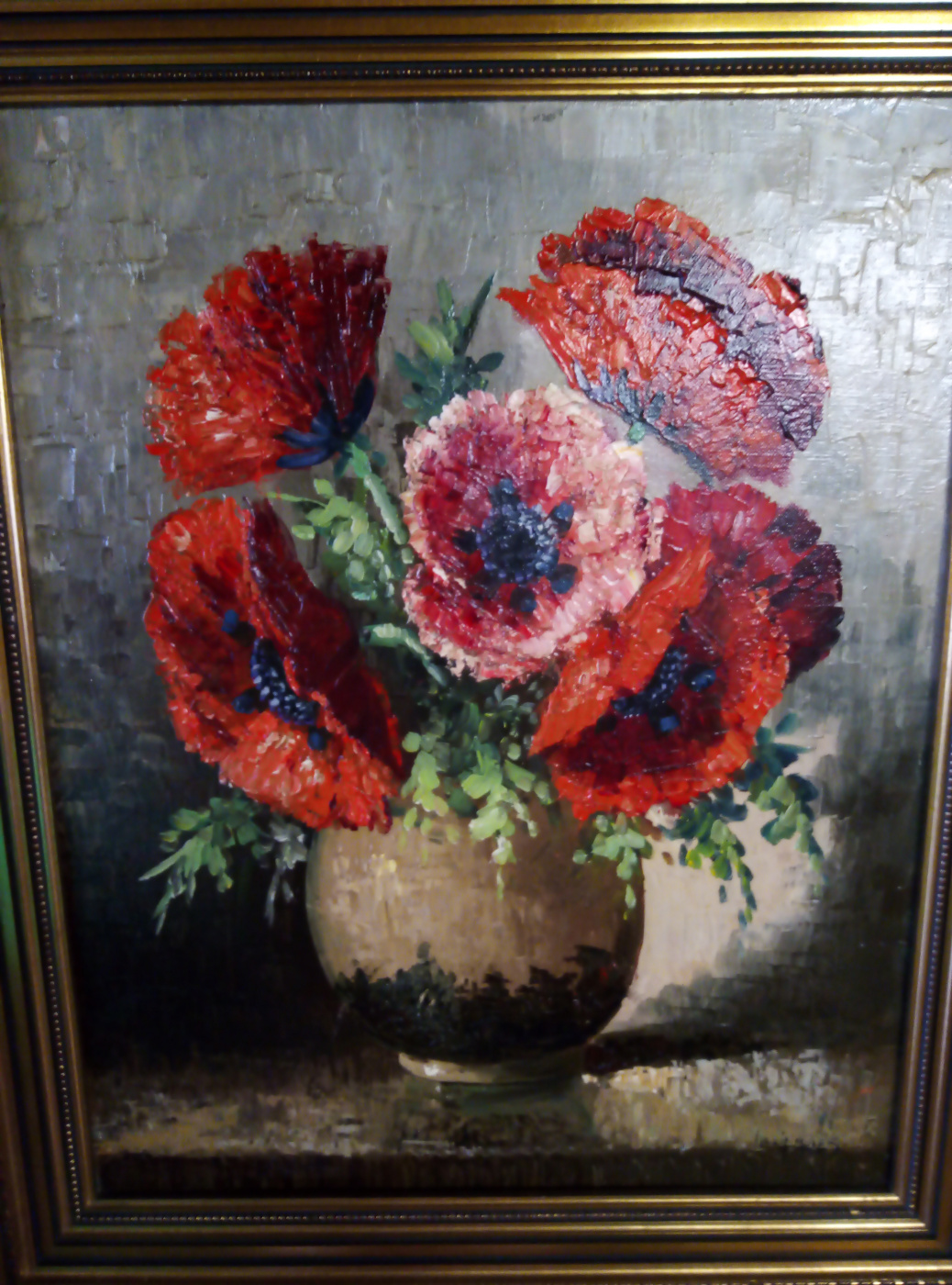 """Tilly MOES (1899-1979). """"Flowers"""""""