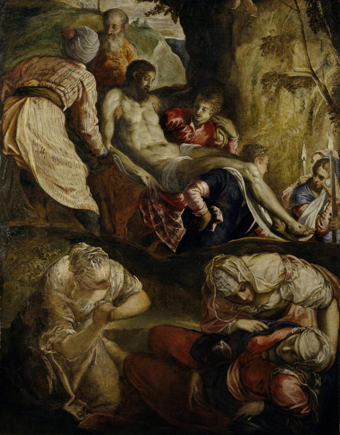 Якопо (Робусти) Тинторетто. Положение Христа во гроб