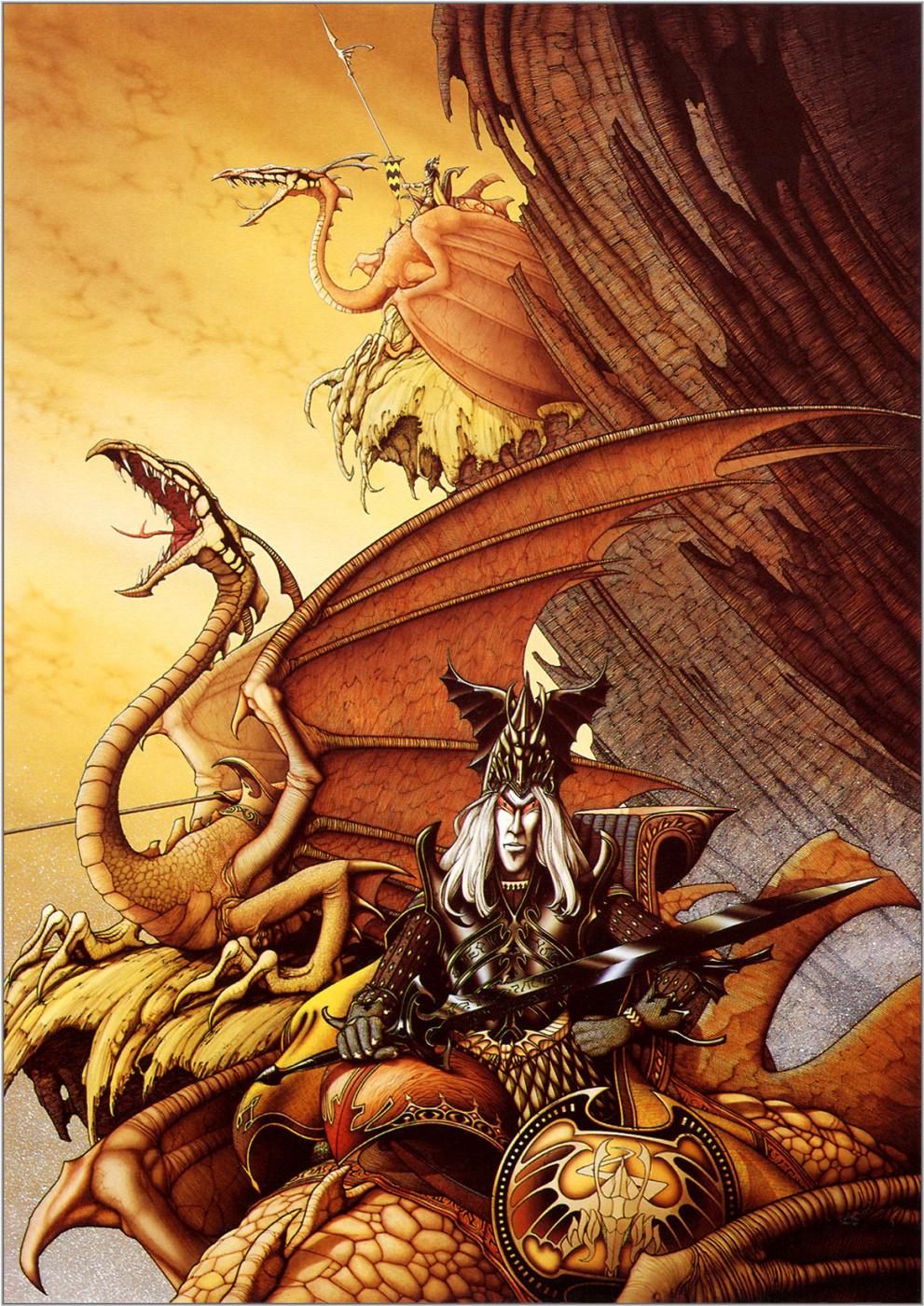 Rodney Matthews. Dragon master