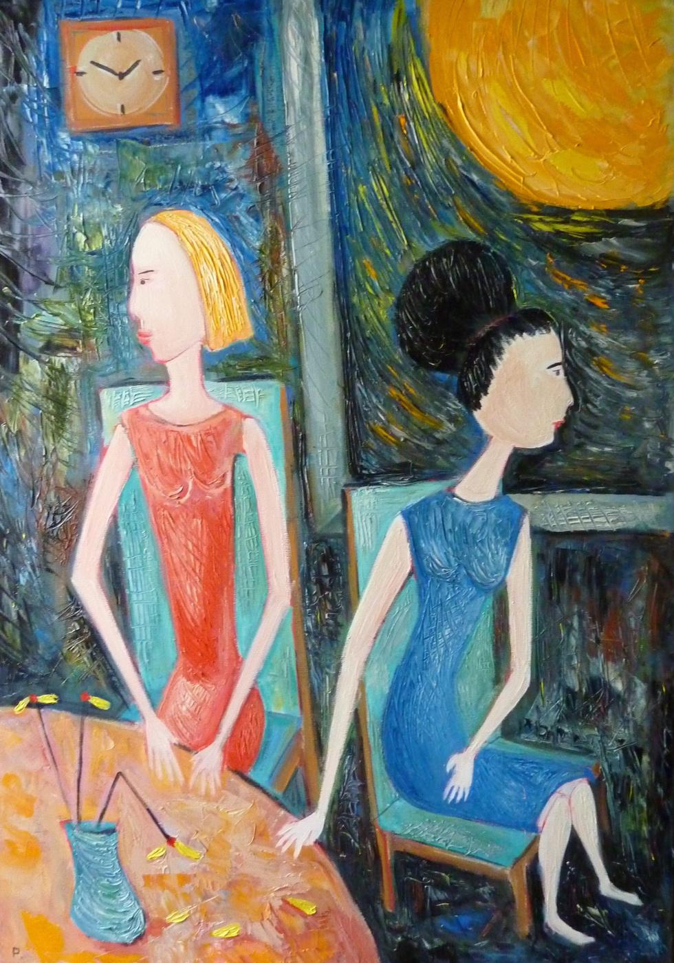 Svyatoslav Ryabkin. Two sisters Two sisters