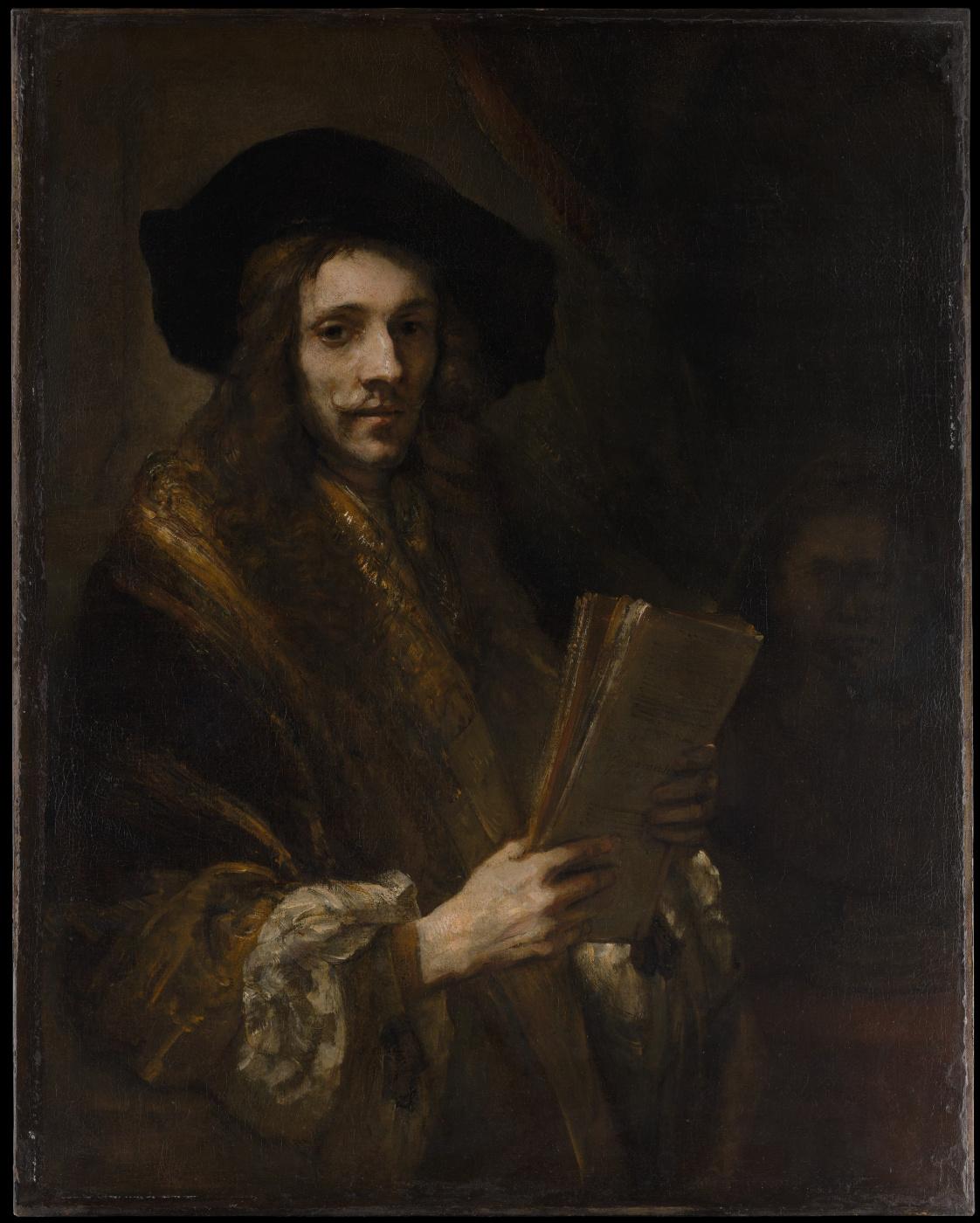 "Rembrandt Harmenszoon van Rijn. Portrait of a Man (""The Auctioneer"")"