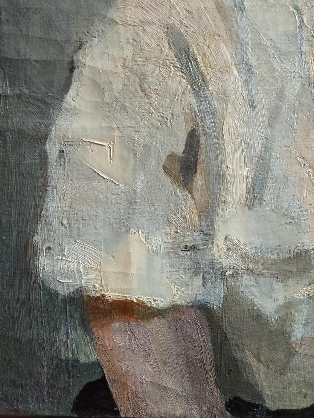 "Fedor Zakharov. ""Portrait of a Woman"""