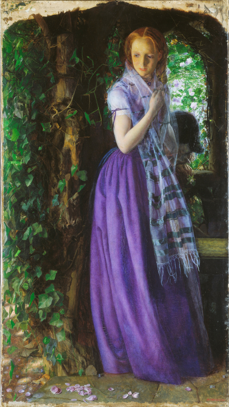 Arthur Hughes. April love