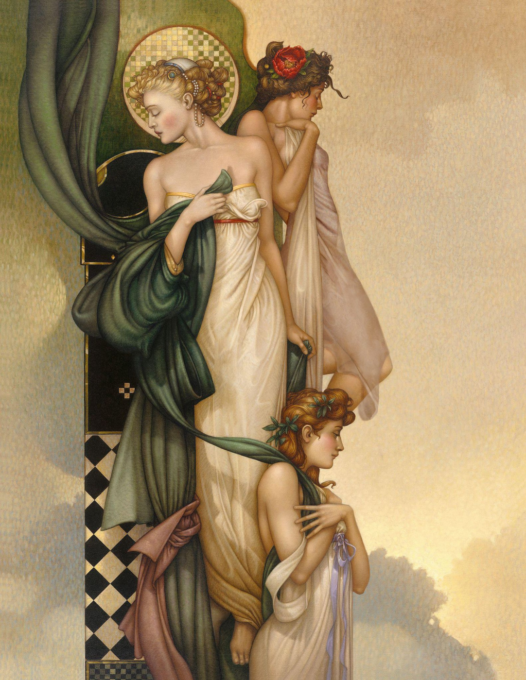 Michael Parkes. Three Graces